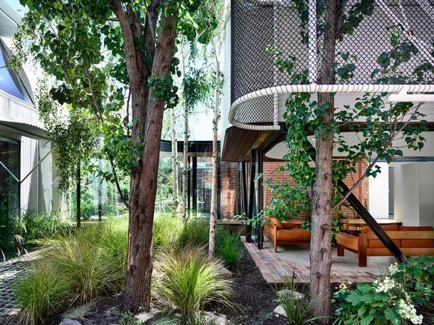 Реконструкция дома 1850 года в пригороде Мельбурна