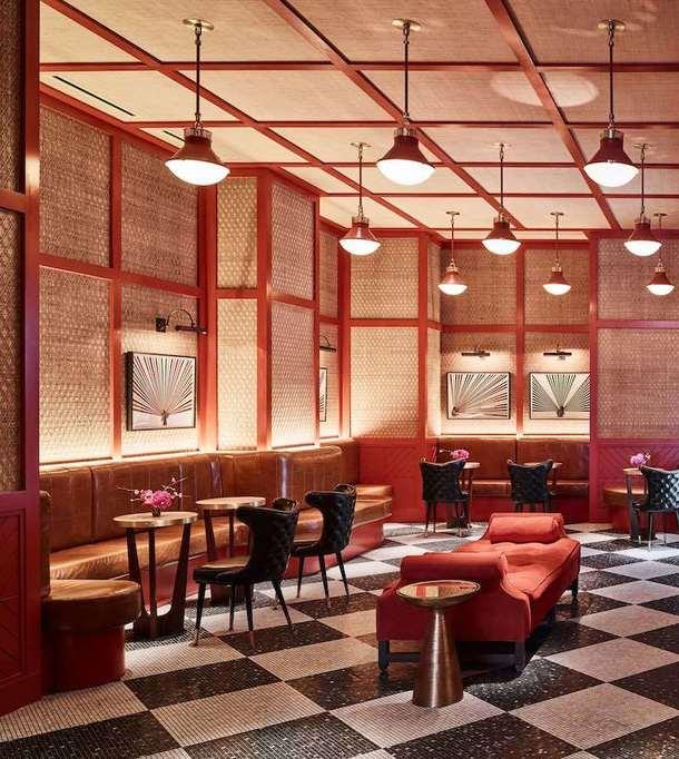 Ресторан в бывшей студии звукозаписи в Нью-Йорке