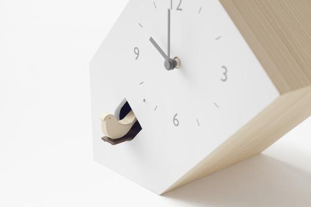 Сейчас вылетит птичка: часы с кукушкой от Nendo