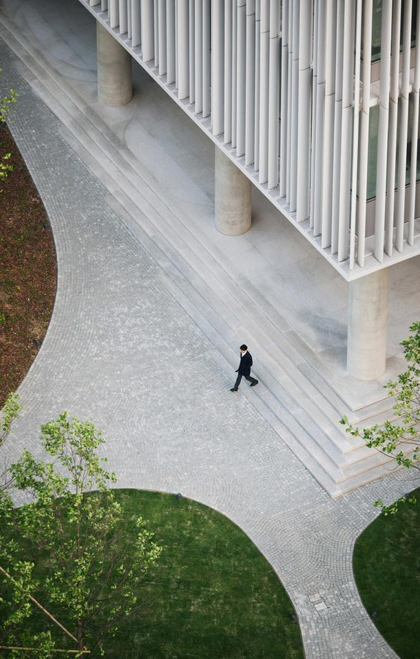 Штаб-квартира Amorepacific по проекту Дэвида Чипперфилда