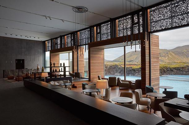 Сказочный отель в Голубой лагуне в Исландии