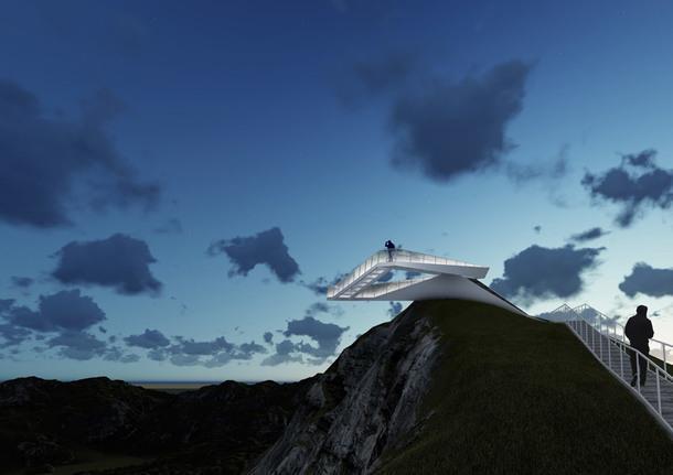 Смотровая площадка на вершине вулкана: 3 проекта-победителя