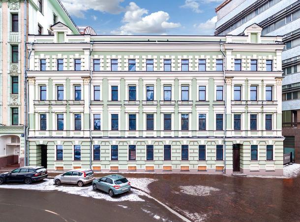 Фасад дома Струкова, входящий в состав комплекса, был тщательно отреставрирован. Всего в ходе работы было восстановлено 2500м2 исторических фасадов.