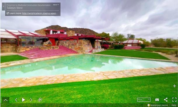 Виртуальная экскурсия по дому и студии Фрэнка Ллойда Райта