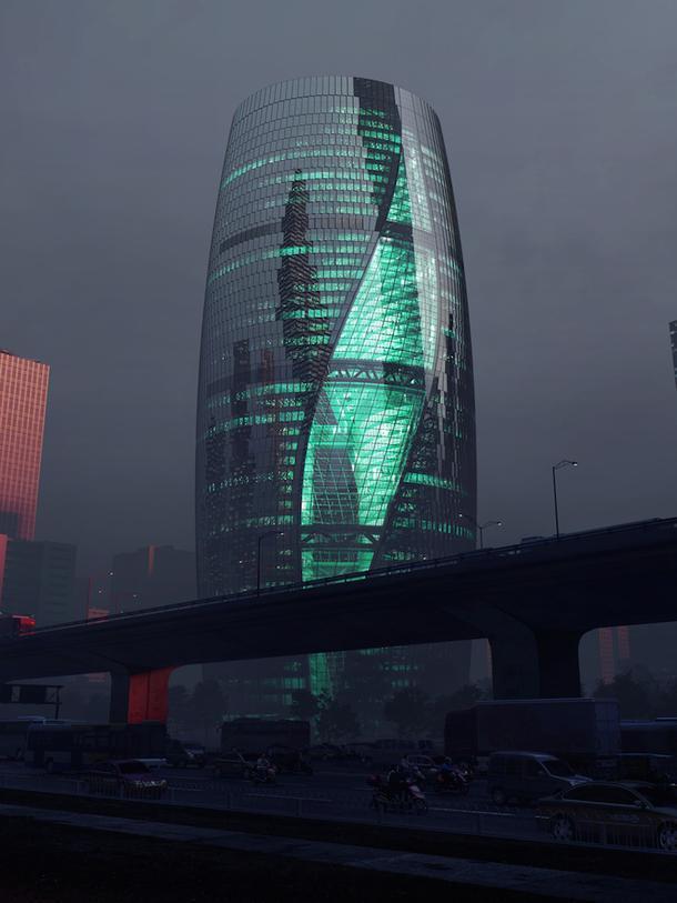 Leeza Soho Tower в Пекине