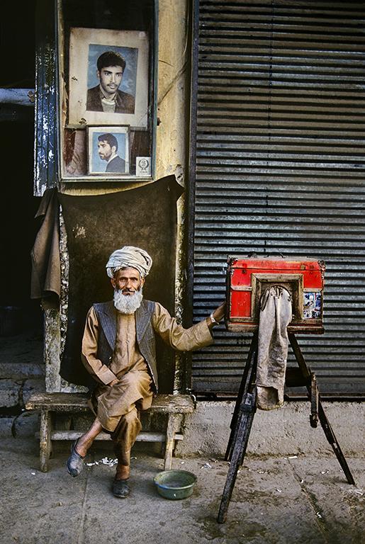 Стив Маккарри. Фотограф-портретист. Кабул, Афганистан, 1992. Цифровая печать.