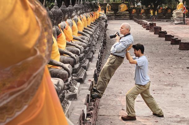 Стив Маккарри в Таиланде, январь 2007.