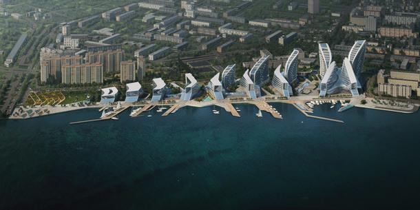 Zaha Hadid Architects благоустроит набережную Адмирала Серебрякова в Новороссийске