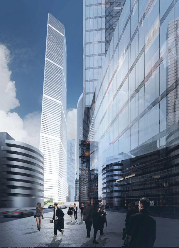 Бюро Сергей Скуратов Architects построит 400-метровый небоскреб в Москва-Сити