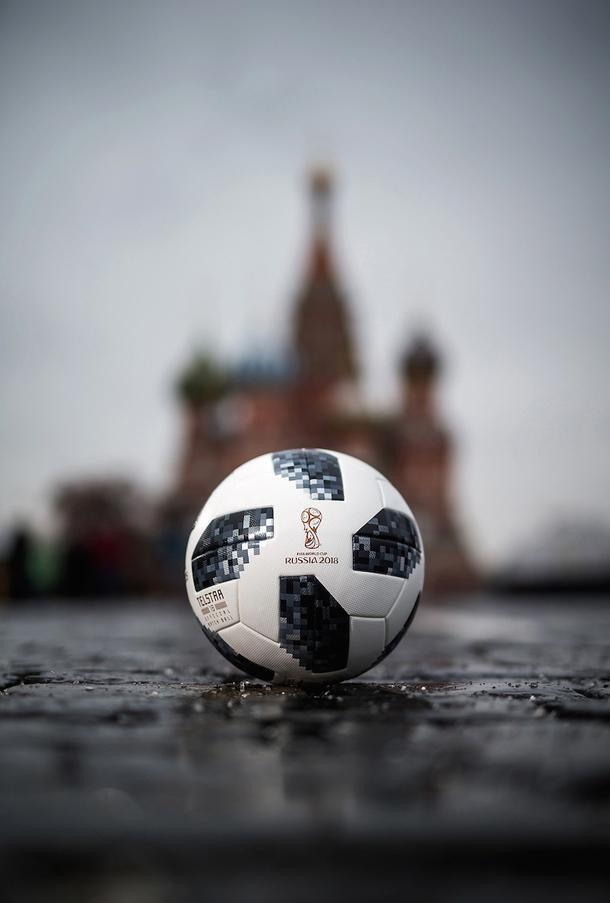 Мяч с Чемпионата мира в России, 2018 год<br /> Getty Images, AFP/East News