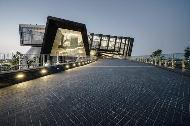 Футуристический музей на Тайване