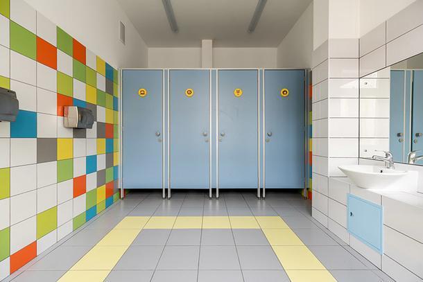 Туалет для мальчиков.