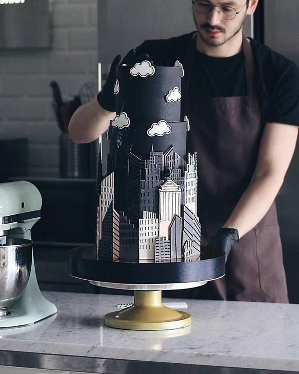 Инстаграм дня: торт как произведение искусства