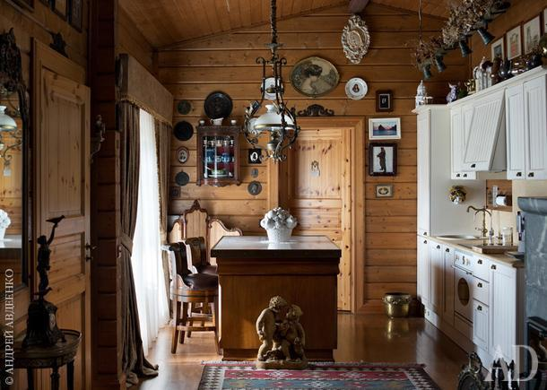 Как оформить деревянный дом: 10 вариантов