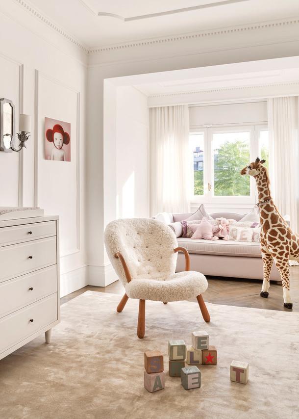 Детская в квартире, которую оформил Хайме Берьестайн дляпары, занятой вмодной индустрии, иихмаленькой дочки. © Manolo Yllera.