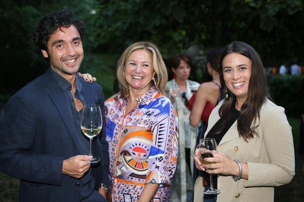 Патриция Квинзанини, Condé Nast, и Карлотта Палермо, Edra.