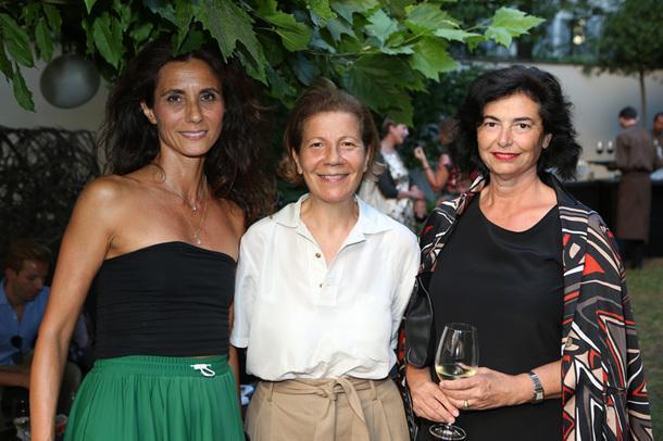 Катерина Фабрицио, Dedar, Кьяра дель Веккио, Conseil и Николлета Балзаретти, Dedar.
