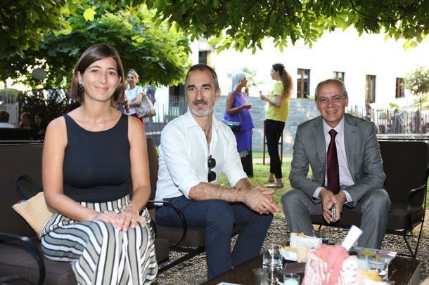Елена Десси, дизайнер Мигель Кеда и Марио Брунейра, Francesco Molon.