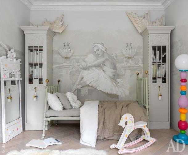 Фрагмент комнаты старшего сына.