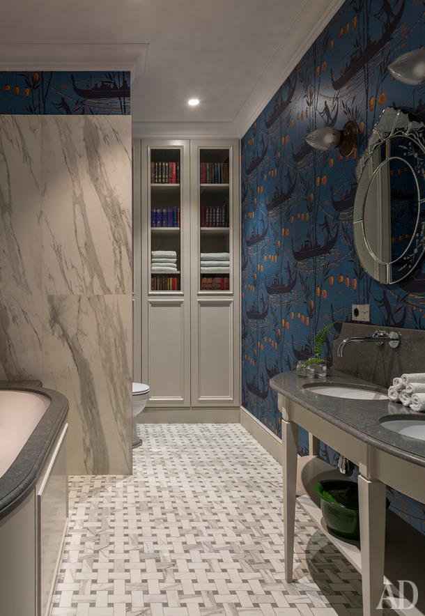 Фрагмент ванной комнаты.