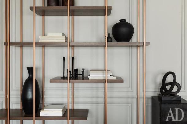 Стеллаж в гостиной — Shake Design.