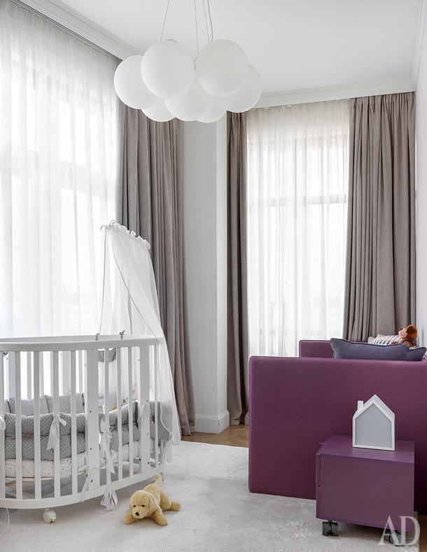 Детская. Диван, Estetika; Детская кровать, Stokke.