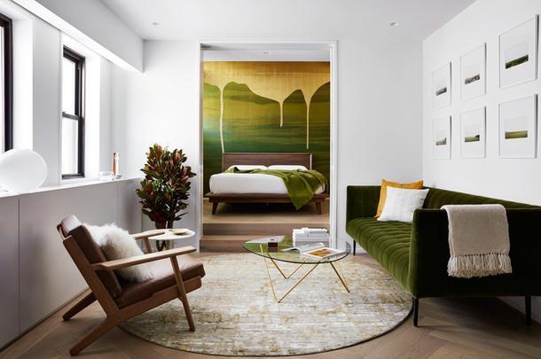 Квартира в Нью-Йорке, 51 м²