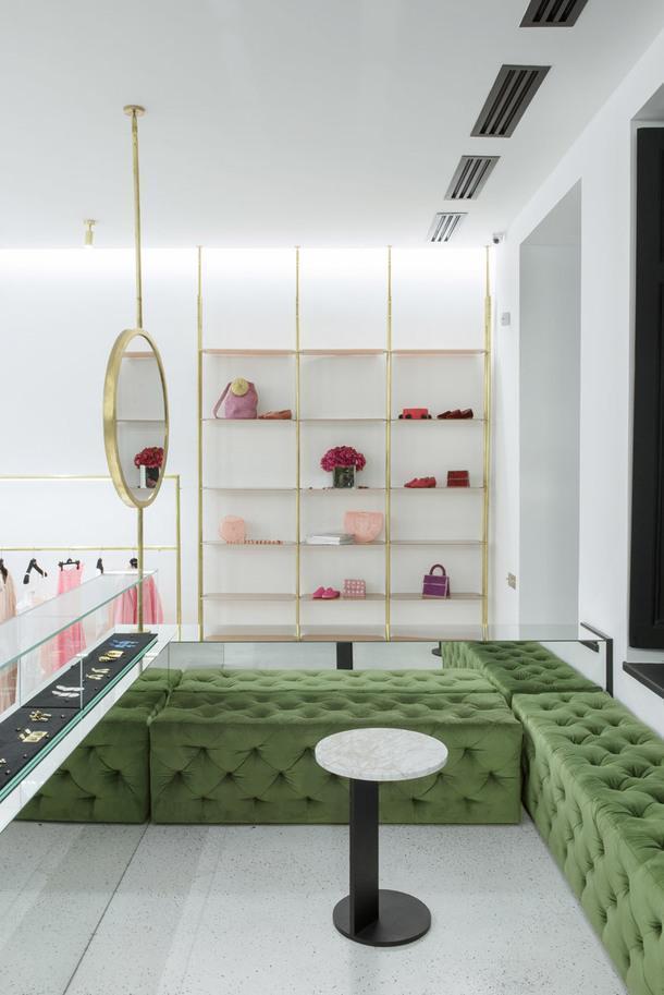 Минималистичный бутик в Тбилиси