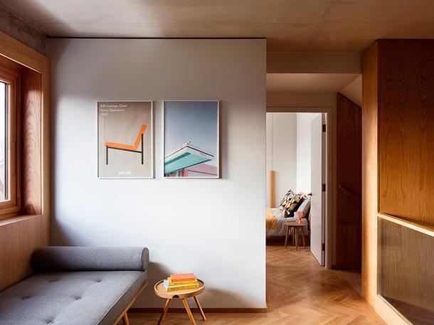 Многоуровневый жилой дом в Лондоне