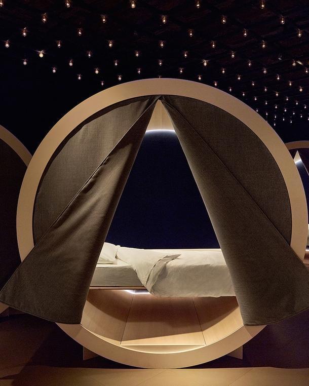 Необычное заведения для сна в нью-йоркском Сохо