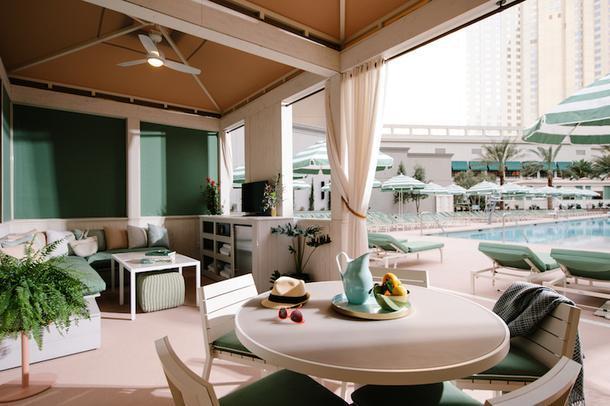 Отель-оазис в Лас-Вегасе