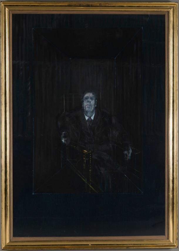 """Фрэнсис Бэкон """"Study for a portrait"""", 1953. Масло, холст. Коллекция V-A-C."""