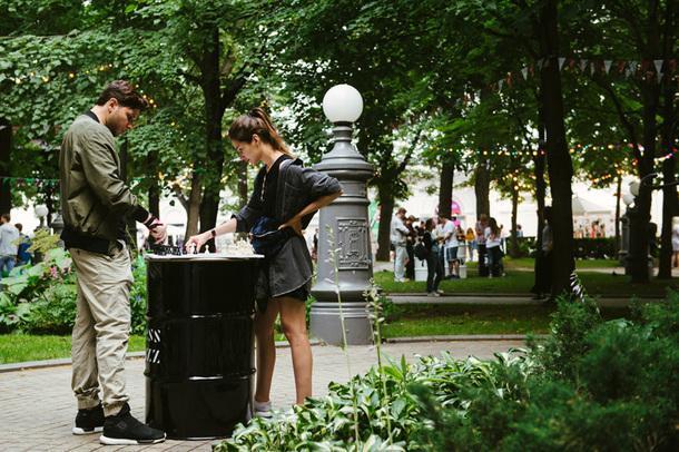 Первый фестиваль джаза и шахмат Chess & Jazz в Москве