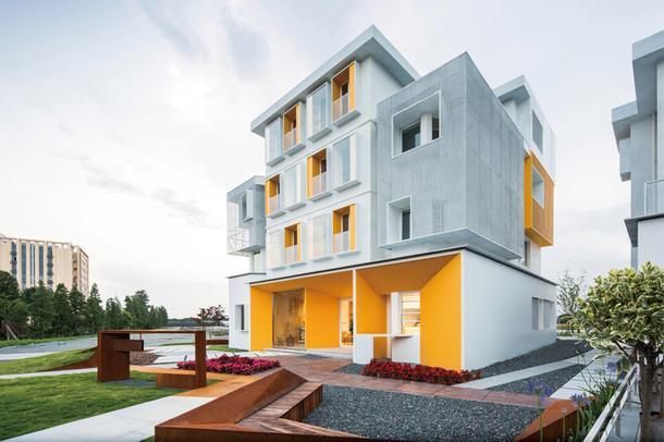 Реконструкция жилого комплекса в Китае