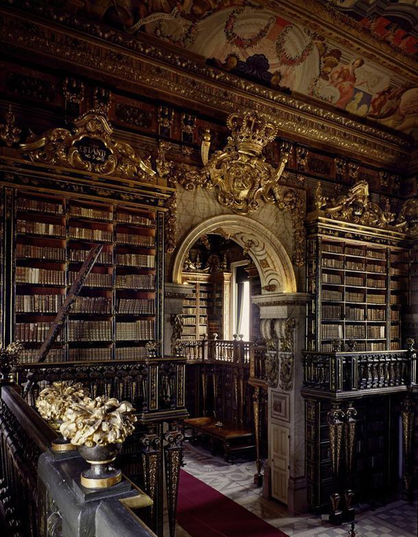 Biblioteca Joanina, Коимбра, Португалия.