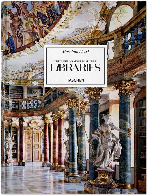 Роскошные интерьеры библиотек в книге Массимо Листри