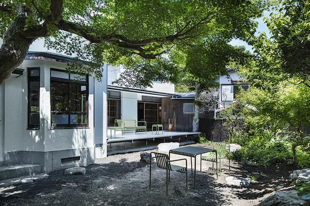 Современный офис в японском стиле в Камакуре