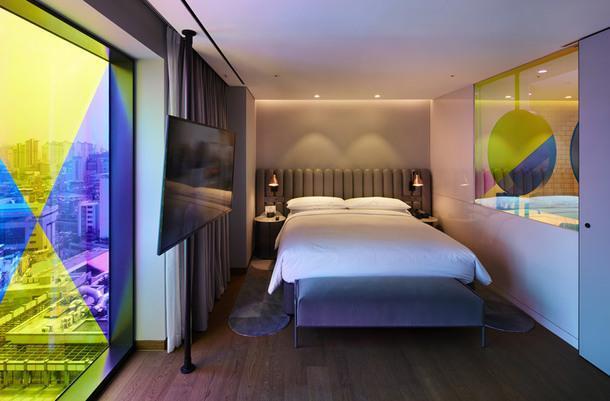Современный отель в Южной Корее