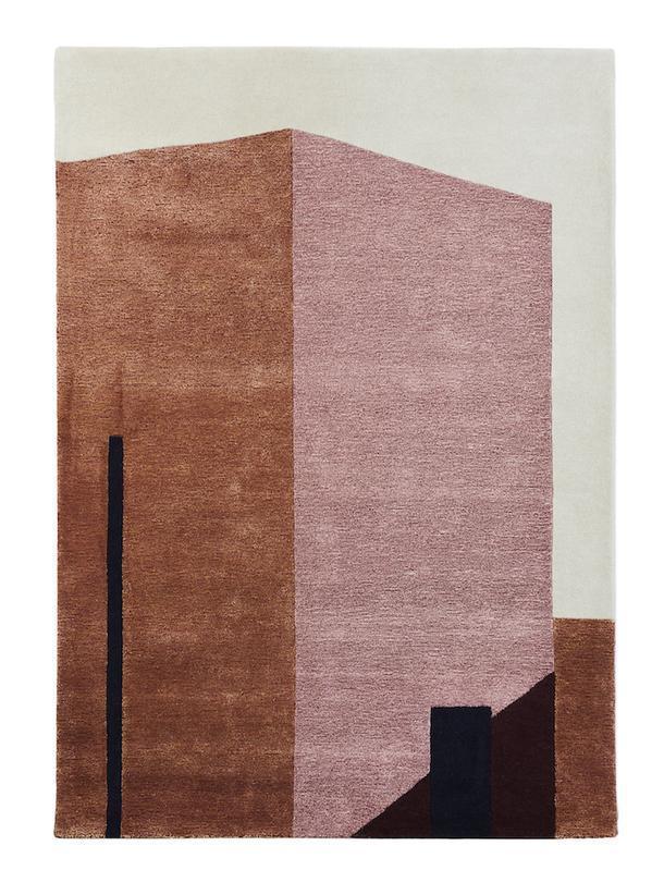 Творческая коллаборация: архитектурные ковры
