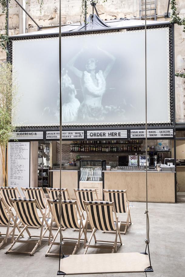 Винтажный кинотеатр в Мадриде
