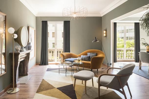 Семейная квартира в Барселоне, 190 м²