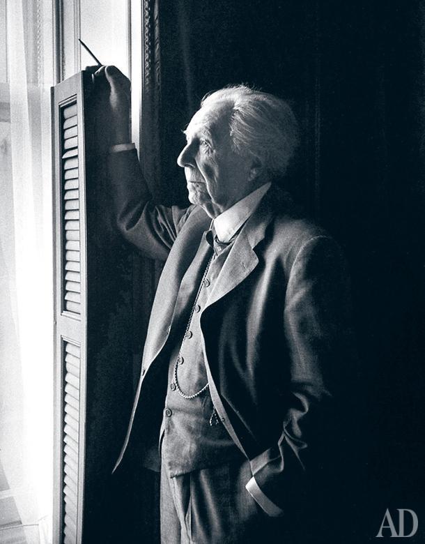 Архитектор Фрэнк Ллойд Райт.