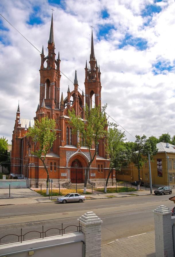 Католический храм Пресвятого Сердца Иисуса.