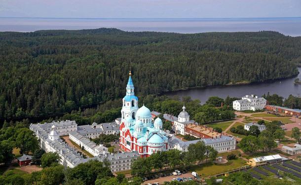 Валаамский монастырь.