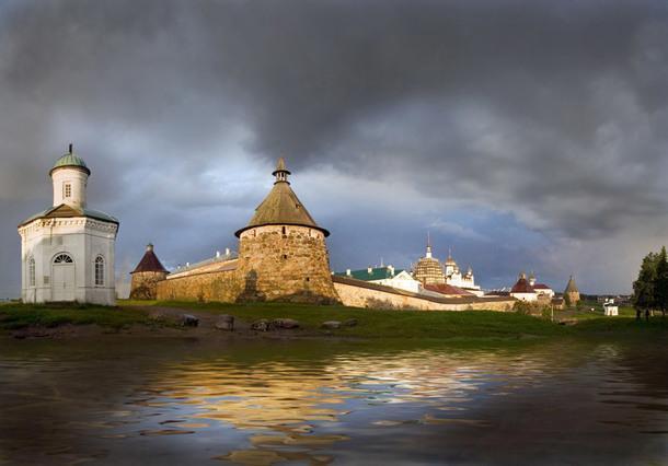 Спасо-Преображенский Соловецкий монастырь, Карелия.