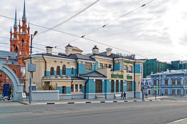 Музей модерна (особняк А. П. Курлиной).
