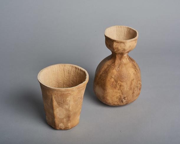 Биоразлагаемые чашки из тыквы