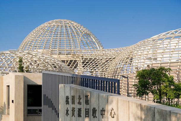 Центр обработки воды на Тайване