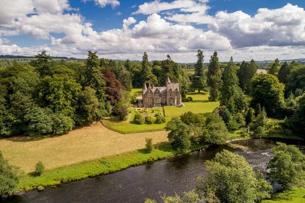 #чтобятакжил: особняк баронов в Шотландии