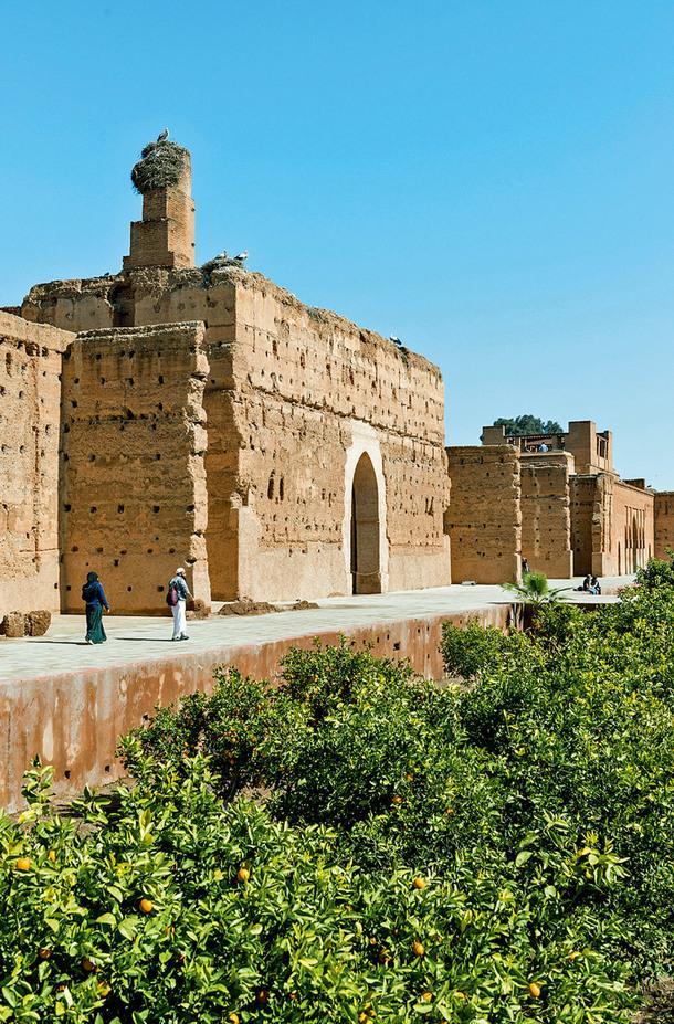 Дворец Эль-Бади.